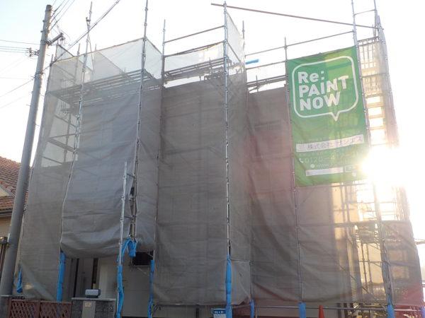 【和歌山県・海南市】N様邸 外壁・屋根 塗り替え着工