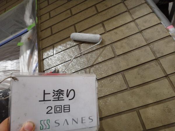 【和歌山県・岩出市】T様邸 外壁 タイル調復元工法 完了です!