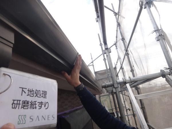 【和歌山市・西庄】I様邸 外壁・屋根【塗装前の下地処理からのサビ止め作業です!】