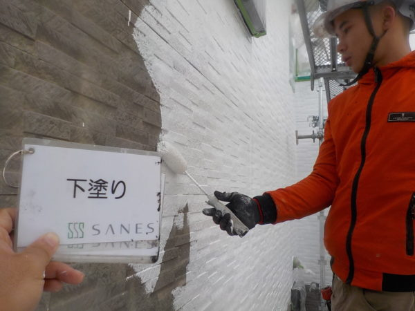 【和歌山市・西庄】I様邸 いよいよ外壁を塗っていきます!