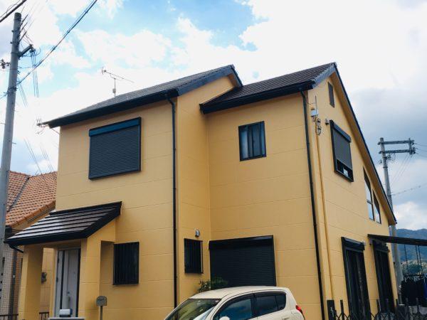 【和歌山県・海南市】N様邸 ビフォーアフター 外壁・屋根 塗り替え完了です!