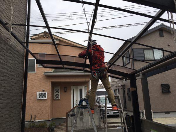 【和歌山市・西庄、I様邸】間もなく外壁塗り替えスタート【まずは準備です!】