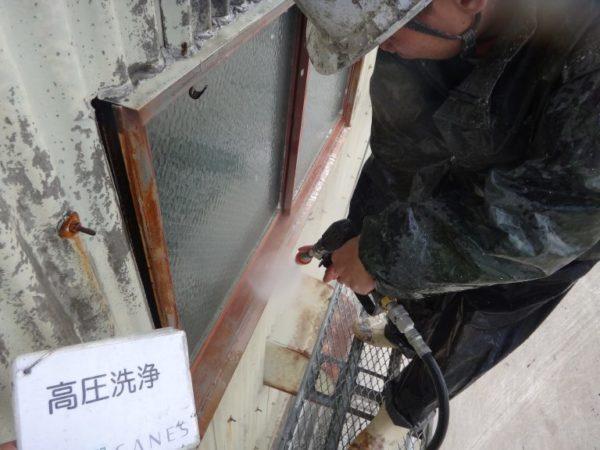 【海南市・黒田】工場塗り替え【本日は高圧洗浄です!】