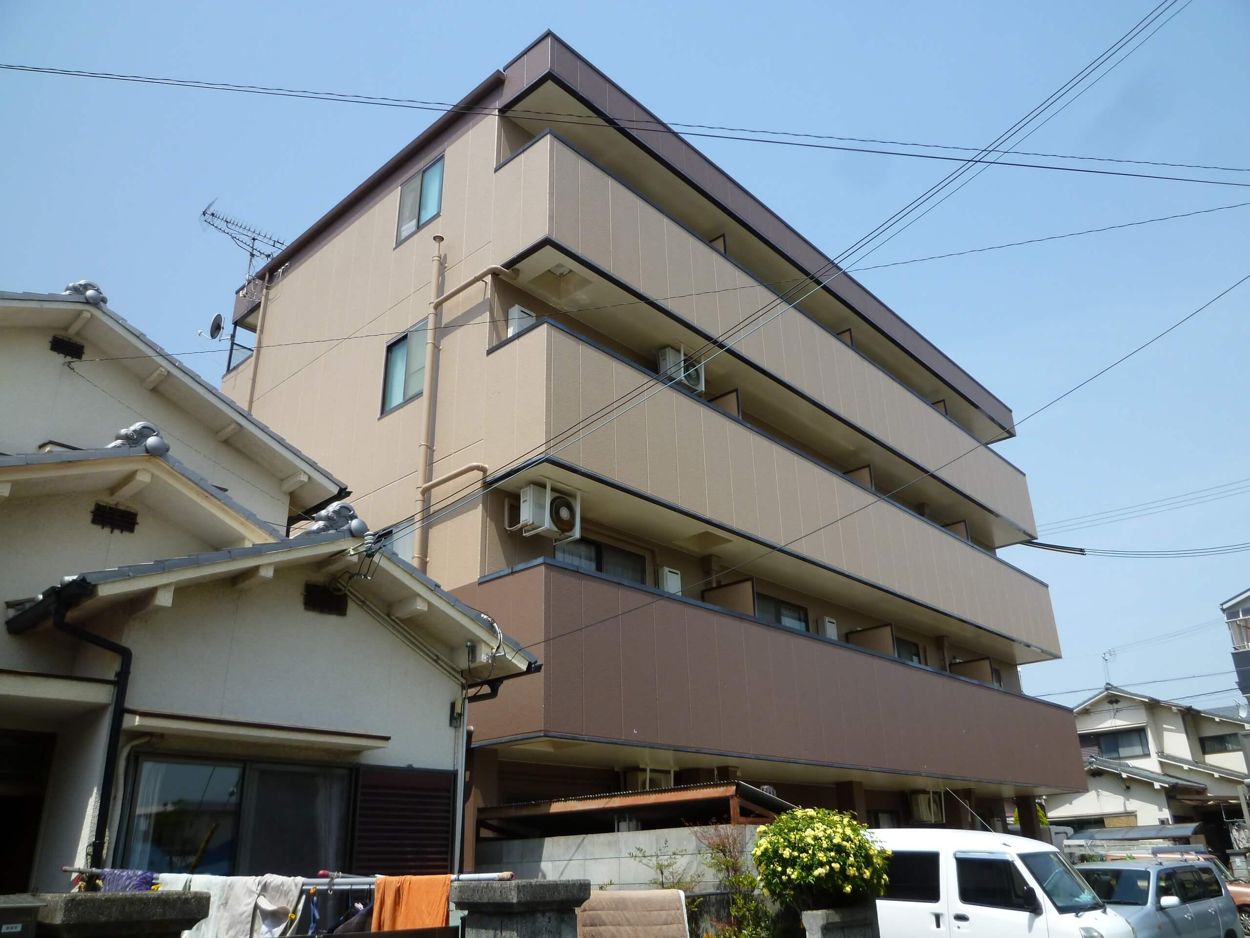 【和歌山市Sマンション】外壁塗装工事【フッ素プラン】after