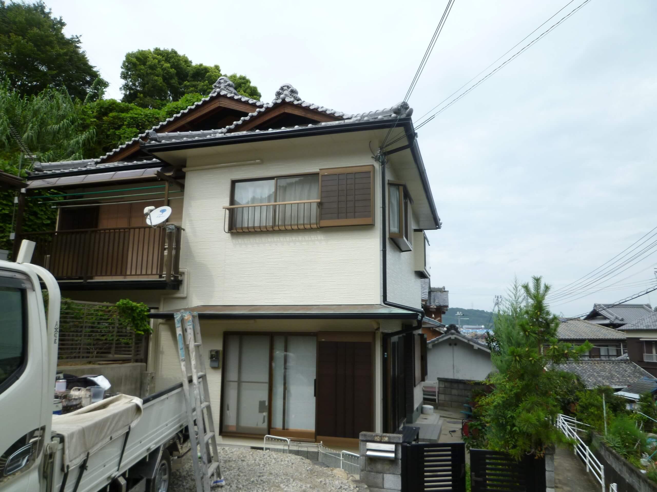 Y様邸 オールシリコンプラン 外壁屋根塗装after