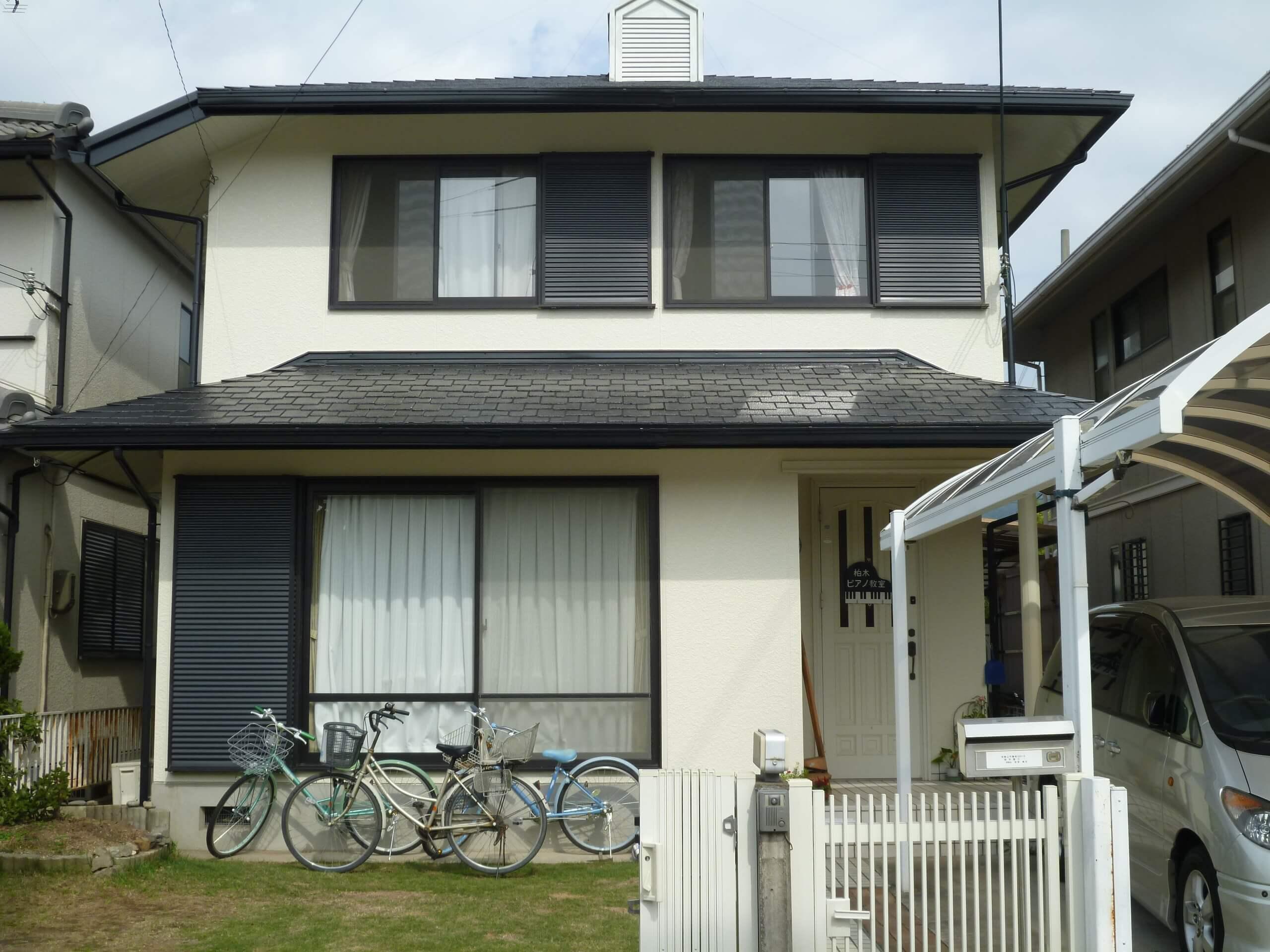 K様邸 オールシリコンプラン 外壁屋根塗装after