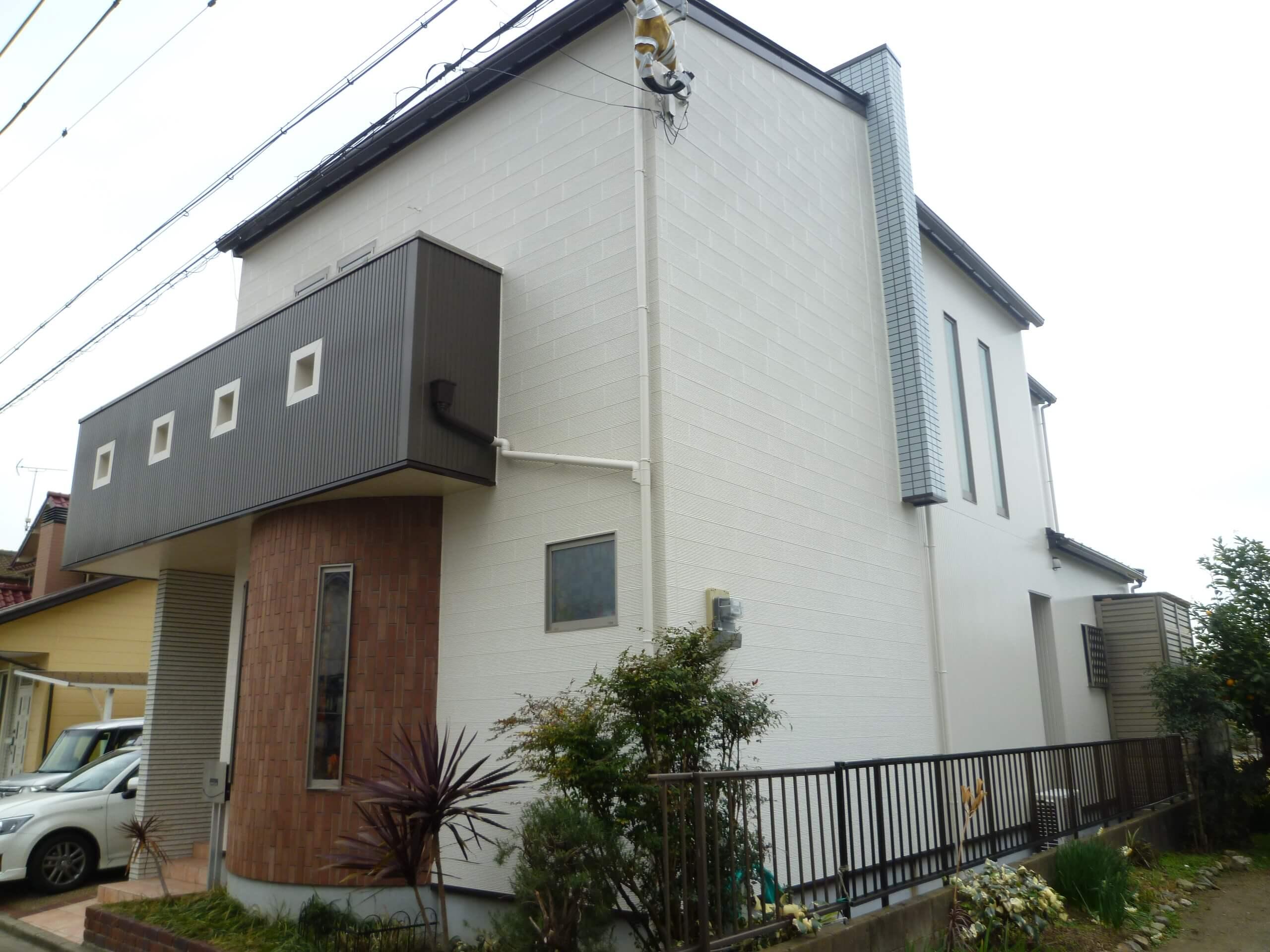 【和歌山市、岡山様邸】外壁・屋根塗装工事【オールフッ素プラン】after