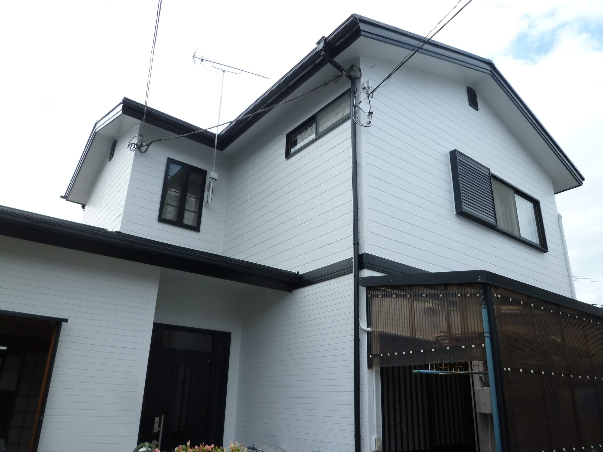 【和歌山市Y様邸】外壁・屋根塗装工事【オールシリコンプラン】after