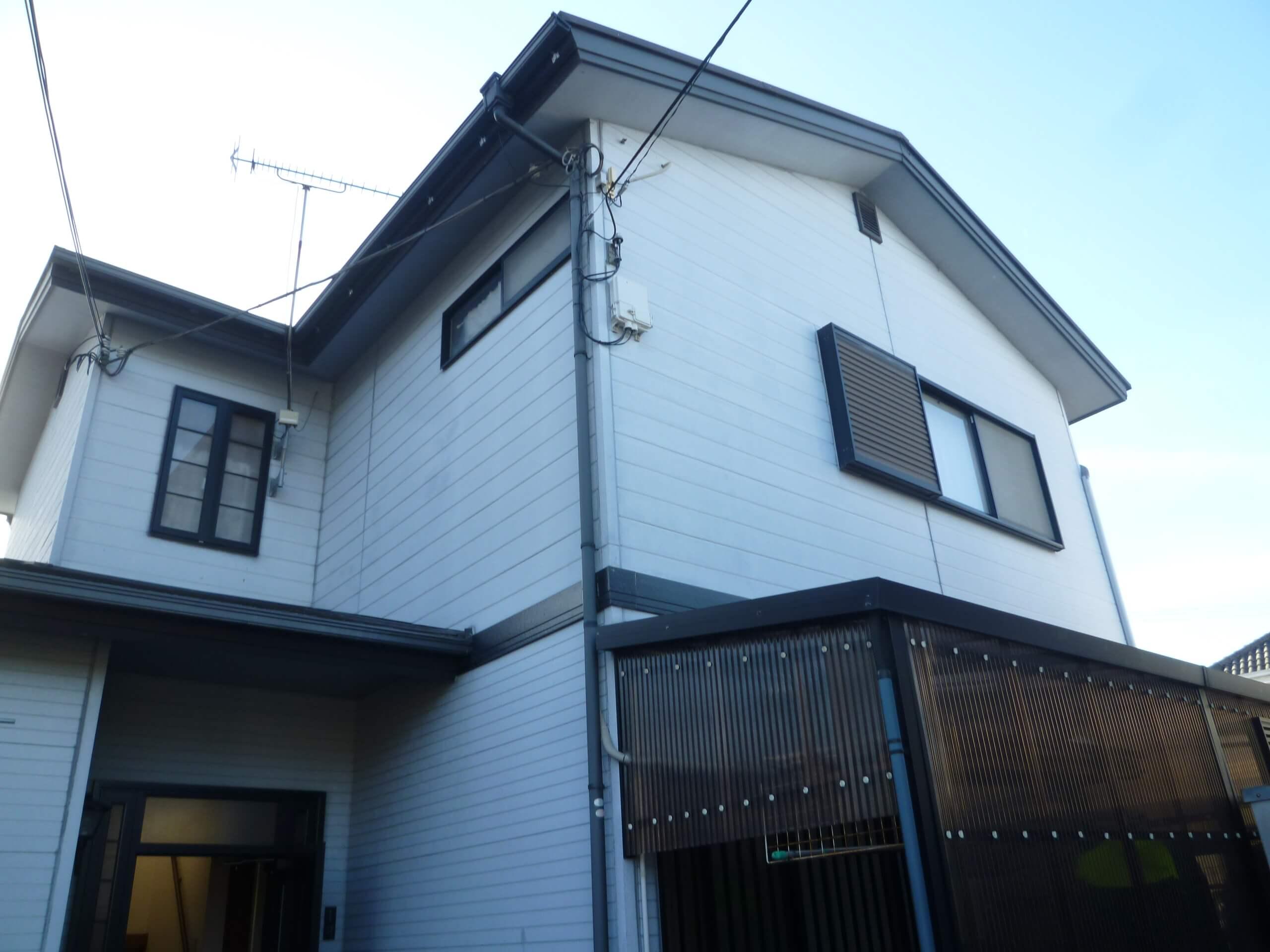 【和歌山市Y様邸】外壁・屋根塗装工事【オールシリコンプラン】before