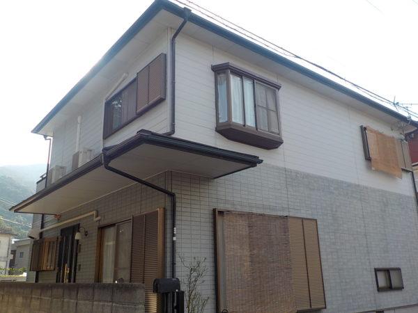【和歌山県海南市】S様邸、外壁屋根塗装のご様子をご紹介していきます!