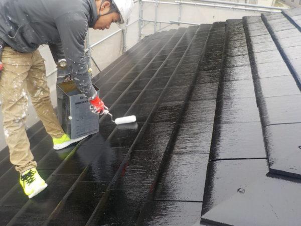 【和歌山県海南市】S様邸、外壁屋根塗装#3【屋根塗装を行います】