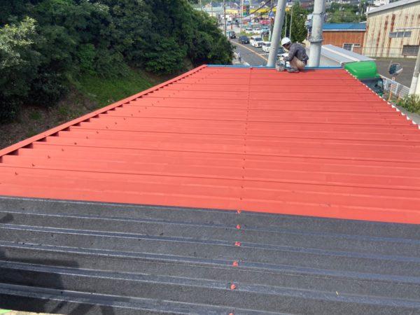 【和歌山県下津町G様邸】折版金属屋根塗装リフォーム
