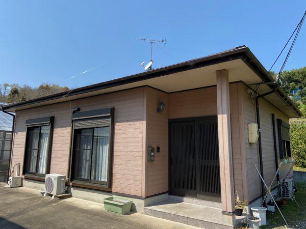 【和歌山県T様邸】 外壁屋根塗装リフォーム工事が始まります。
