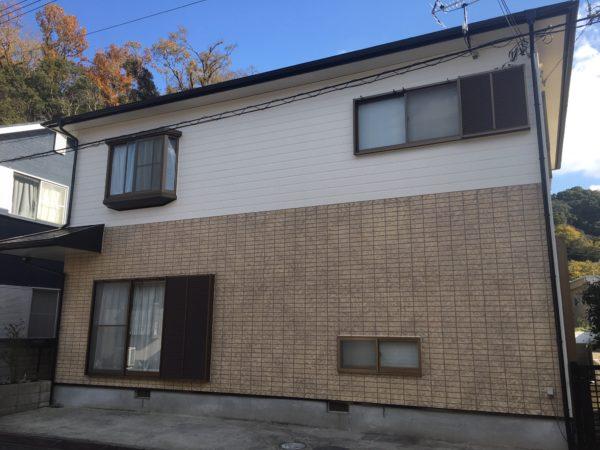 【和歌山県海南市】S様邸#10 外壁屋根塗装工事が完了です。