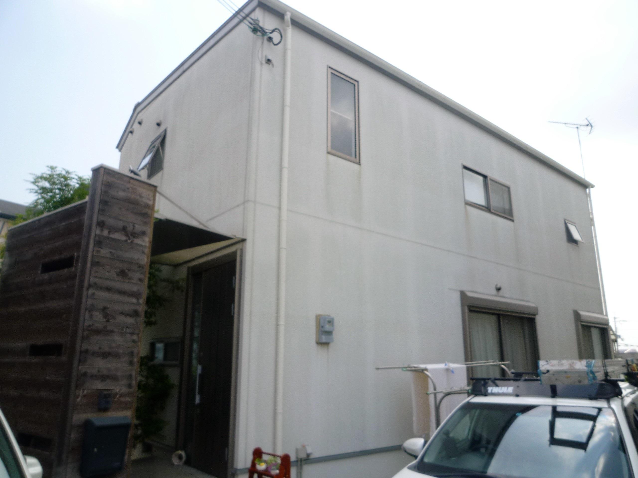 【和歌山市M様邸】外壁塗装工事【フッ素プラン】before