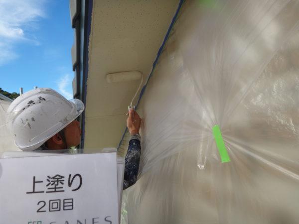 【和歌山G様邸】UVクリヤーFプラン【コーキング工事から軒天塗装まで】