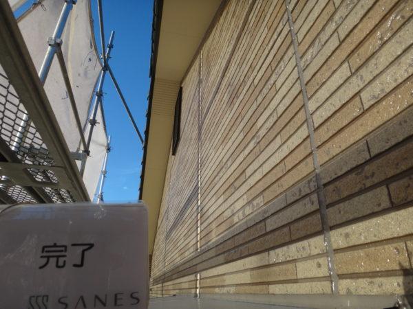 【和歌山G様邸】外壁のサイディングにプレミアムUVクリヤーFを塗装!