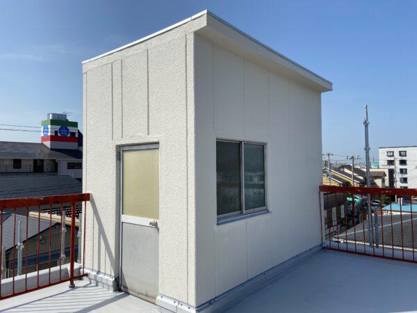 【和歌山市新中島】外壁補修工事を行いました。