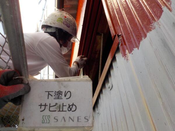 和歌山県海南市N様邸 倉庫・外壁塗装 作業報告③