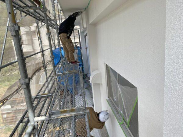 【和歌山県海南市G様邸】外壁塗装の様子をご紹介パート②