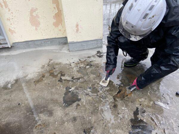 屋上・雨漏り対策の下処理【和歌山県海南市N様邸】