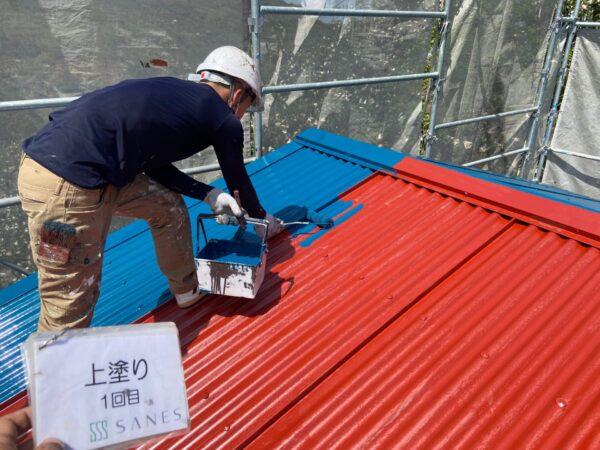 和歌山県海南市N様邸 倉庫外壁・屋根塗装の作業報告